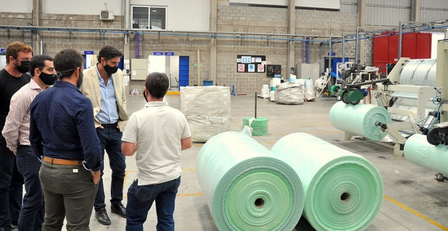 El Gobierno fomenta la radicación de industrias en la provincia a través de políticas favorables al sector