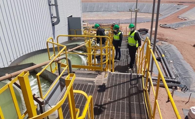El Gobierno inspeccionó la mina Lindero