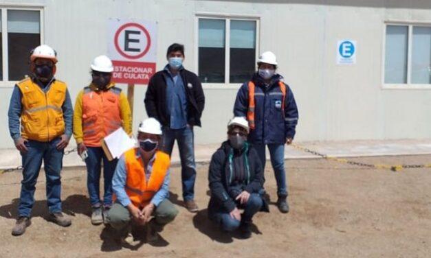 Minería inspeccionó el proyecto minero Sal de los Ángeles