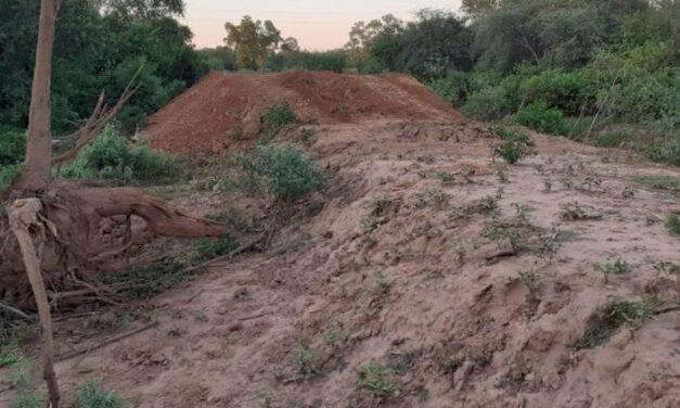 Avanzan las obras para proteger a comunidades ribereñas del río Pilcomayo