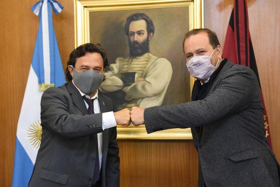 El gobernador Sáenz se reunió con el Secretario de Agricultura de la Nación