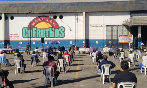 Bajo estrictos protocolos sanitarios se realizó la asamblea del mercado COFRUTHOS