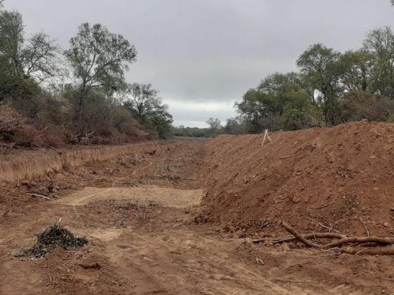 Se modificó la traza de defensas en el río Pilcomayo