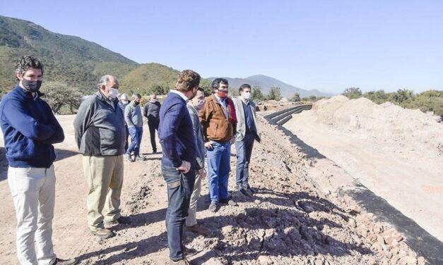 Se concretaron más de la mitad de las obras hídricas previstas para el Parque Industrial