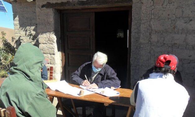 Relevamiento de pequeños productores de la Quebrada del Toro