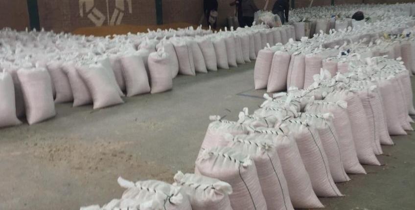 El Gobierno entrega maíz y soja desactivada en Rivadavia Banda Sur