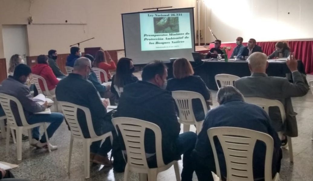 Comenzaron los talleres participativos para la revisión del Ordenamiento de Bosques Nativos