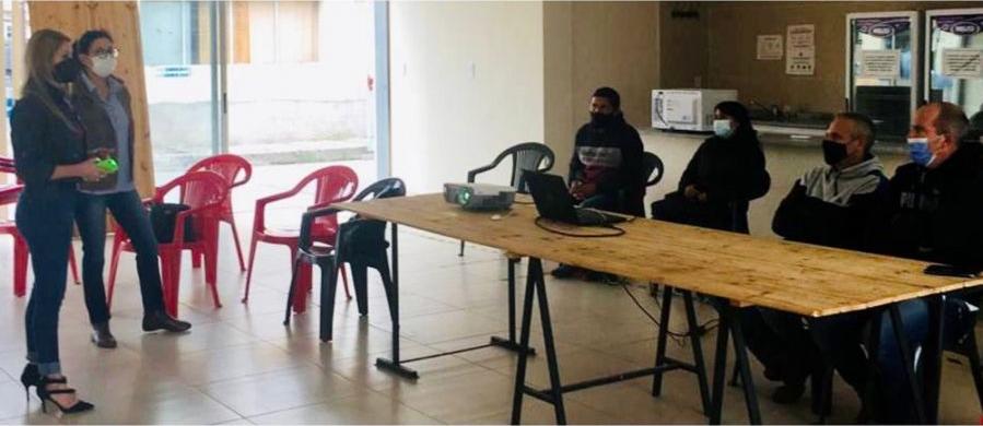 Pasto cubano: capacitaron sobre manejo de la maleza a responsables de mantenimiento de rutas y vías